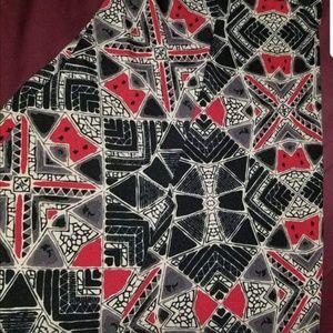 Lularoe 3x maxi skirt